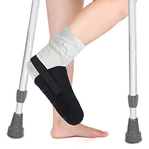Gips Socken, Gipsschutz Fuß Cast Sock Toe Cover Mit Schnellverschluss und Rutschfestem Streifen für Bein-, Fuß- und Knöchelabdrücke, Schutz des gegossenen Wanderschuhs und sauberer Orthesenschienen