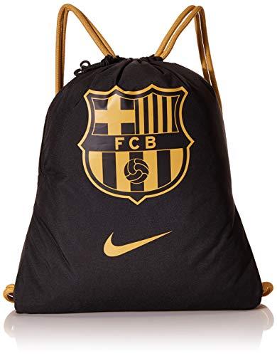 NIKE NK Stadium FCB Gmsk-Fa20 Sports Bag, Unisex Adulto, Black/Truly Gold/Truly Gold, MISC