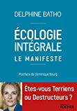 Ecologie intégrale. Le Manifeste