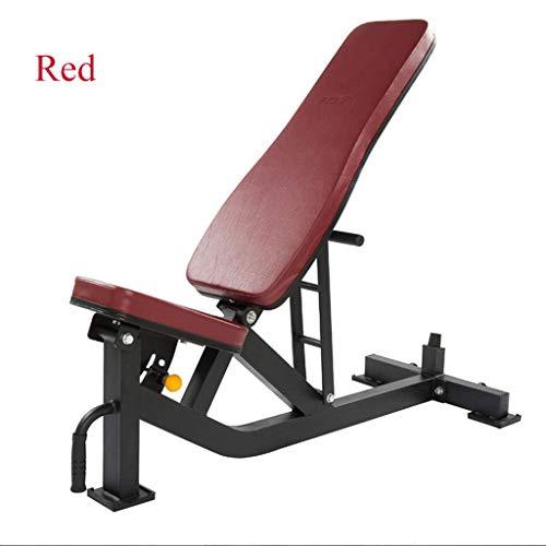 Fitnessbed, verstelbare halter platte kruk, platte bankpers, speciale grote platte kruk, halter vliegende kruk, commerciële fitness stoel,