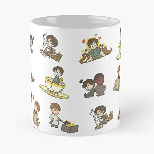 92Wear Hannibal Lecter Will Graham Jack Crawford Hannitales Mug Coffee Mugs For - Best 11 oz Taza De Café - Taza De Motivos De Café