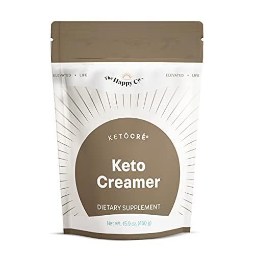 Elevacity - KetoCré Keto Coffee Creamer - Support Ketogenic Weight Management Goals - 15.9 Oz Powder Mix, 30 Servings