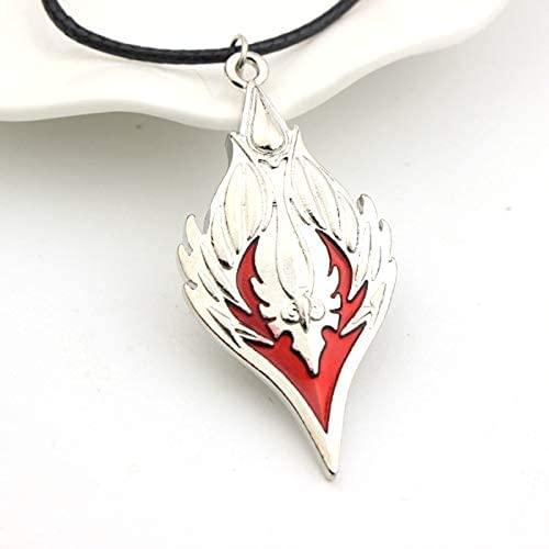 Jpenxv Juego Sangre Elf Collar Símbolo Tribal Collar Recondu Quae Rhombus Collar Colgante Hombres Frescos contemporáneos