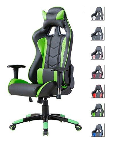 Delman Gaming Stuhl Bürostuhl Racing auf schoene-moebel-kaufen.de ansehen