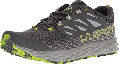 La Sportiva Men's Lycan Mountain Running Shoe Carbon/Apple Green - 10.5