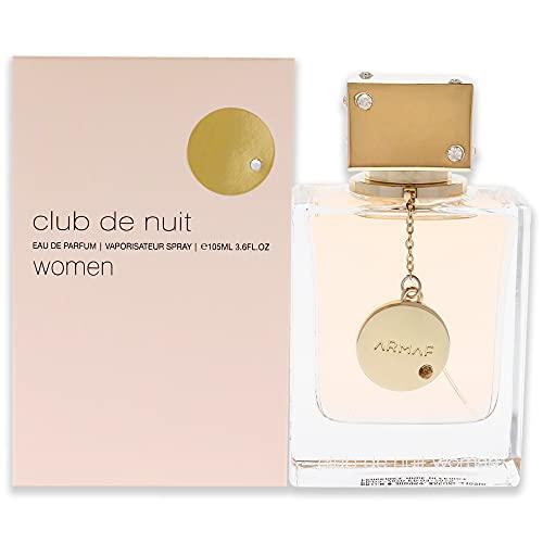 ARMAF Club De Nuit para mujer Eau De Parfume Spray 3.6 onzas, transparente, ARF32101304