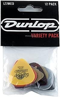 Dunlop PVP101 Pick Variety Pack, Assorted, Light/Medium,...