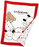 Chicco Unisex Baby Coperta carrozzina Winter-Zubehr-Set, Weiß, One Size