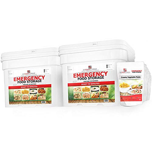 My Food Storage 240 Servings of Long Term Food Storage - Best Long Term Emergency Food Supply - Just Add Water - Fast, Easy and Delicious