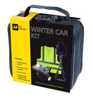 Winter Snow Accessories AA Hiver Neige Kit de Voiture avec AA Pelle à Neige Pliable
