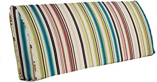 Sängkudde Soft Pack Gavel Bed Back Säng Double Long Pillow Nap Pillow ljus Bed Kudde säng kudde ryggkuddar Kudde mjuk väska Triangle kudde (Color : B, Size : 180CM)