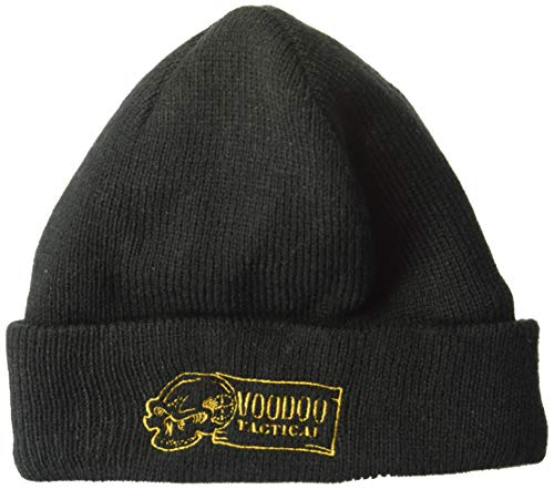 VooDoo Tactical 01-0098001000 Embroidered Thinsulate Beanie, Black