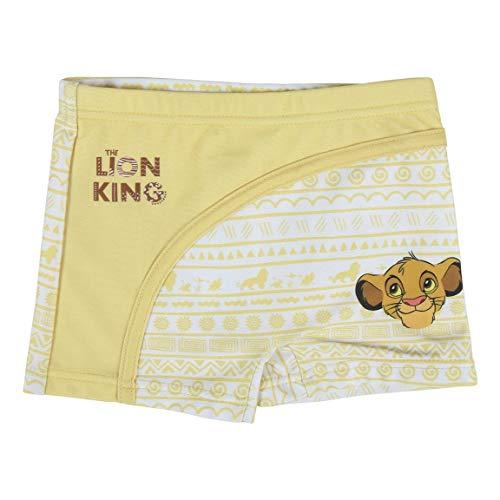 CERDÁ LIFE'S LITTLE MOMENTS Boxers Bañador Bebe Niño de Simba El Rey Leon-Licencia Oficial Disney, Amarillo, 1 Año para Bebés