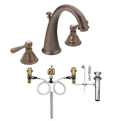 Moen Kingsley Two-Handle High Arc Bathroom Faucet