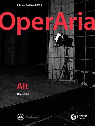 OperAria Alt - Das Repertoire für alle Stimmgattungen (EB 8873): Noten für Alt, Klavier