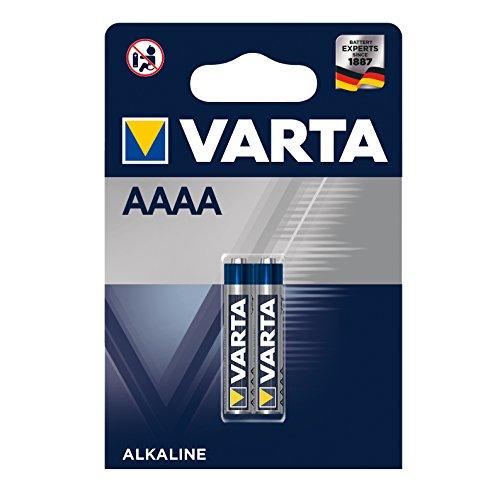 Varta LR8D425 AAAA Batterie 1,5 V Mini Alkaline Batterien - 2er Pack