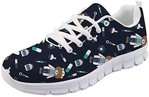 MODEGA Zapatillas para Andar Zapatillas Esparto Mujer Zapatillas Deportivas Hombre Zapatillas de Marca Baratas Marcas de Zapatos de Hombre Talla 5.5 UK|38 EU