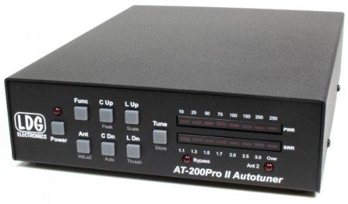 LDG Electronics at-200proii Automatische Antenne Tuner 1,8–54MHz, 5–250Watt SSB und CW. 100Watt auf 6m. 75Watt mit PSK oder Digital Modi. 2Jahre Garantie