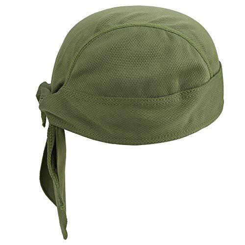 Cappuccio da Cravatta Solido, Cabina di Testa UXCELL CAMSA RAIDATA di Maglia (Verde)