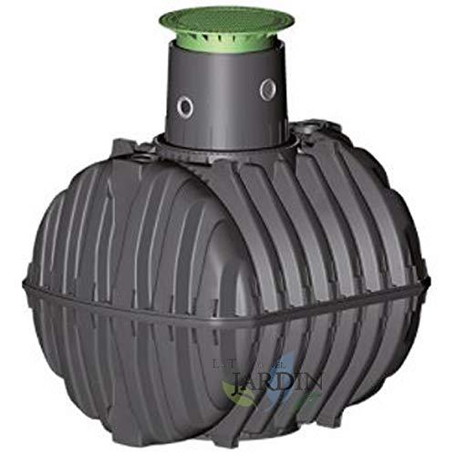 FOSA SEPTICA Überdachung 6500 Liter. Empfohlen für 12 bis 14 Personen. Länge 239 cm, Breite 219 cm, Höhe 273 cm