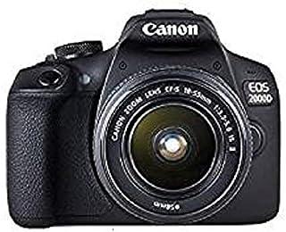 Canon EOS 2000D 18-55mm Is Fotoğraf Makinesi, Full Hd (1080P), Siyah, 2 Yıl Canon Eurasia Garantili