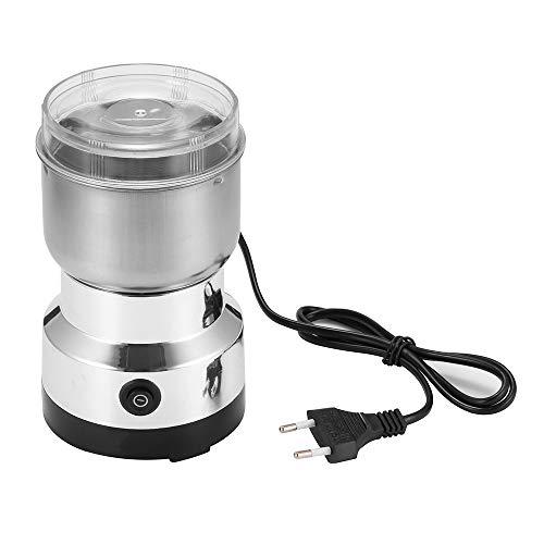 ShangSky Kaffeemühlen Elektrisch Kleine, elektrische Edelstahl-Kaffeebohnen-Gewürzmutter, 150W