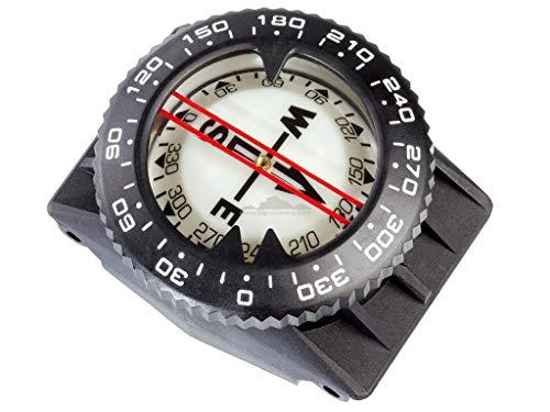 Cressi Professional Tauchkompass, mit Befestigungskit