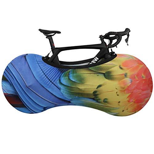 HJCE Cubierta Protectora Bicicleta,Equipo Protector Bicicleta Carretera MTB Cubierta Marco Ruedas Antipolvo,Bolsa Almacenamiento A Prueba Arañazos,Accesorios para Bicicleta L 27.5-29 F