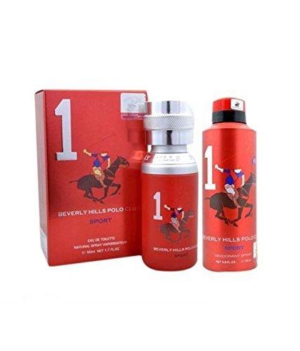 Beverly Hills Polo Club 1 Combo de perfume y desodorante para hombres
