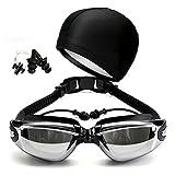 XIAOHE Gafas de natación, antivaho, antifugas y Anti UV. Se envasan...