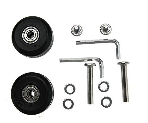 Create Idea - Juego de 2 ruedas de repuesto OD40 mm para...