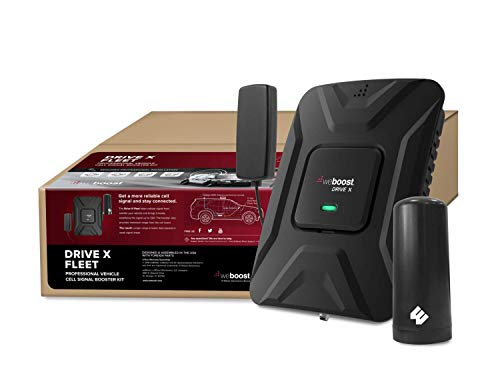 weBoost Drive X Fleet (473021) Cell Phone Signal Booster for Any Fleet Vehicles   Verizon, AT&T, T-Mobile, Sprint   Requires Professional Installation