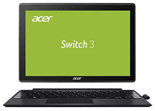 Acer Switch 3 SW312-31-P7SF 31 cm (12,2 Zoll Full-HD) Convertible Notebook (Intel Pentium N4200 Quad-Core, 4GB RAM, 64GB eMMC, Intel HD, Win 10 Home) grau, Acer Active Pen