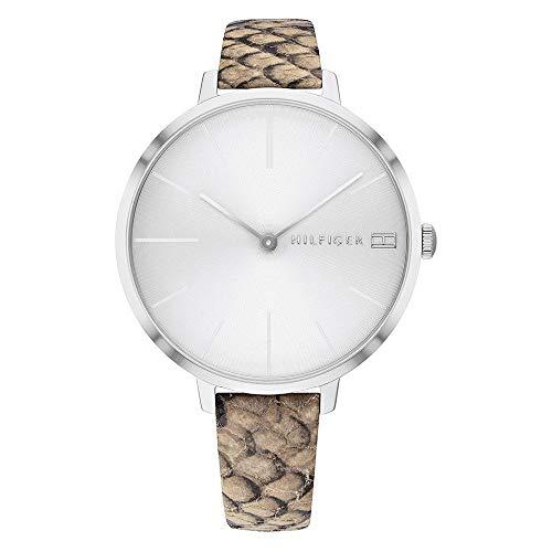Tommy Hilfiger Reloj Analógico para Mujer de Cuarzo con Correa en Piel 1782162