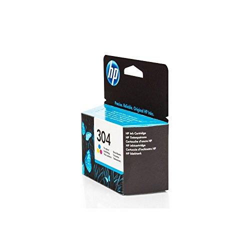 Original HP N9K05AE / 304, für DeskJet 3720 Premium Drucker-Patrone, Cyan, Magenta, Gelb, 2 ml