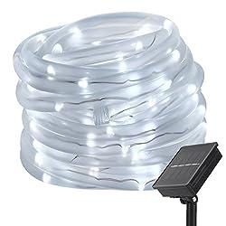 Best solar rope lights reviewed 2018 best solar tech lighting even solar rope light mozeypictures Images