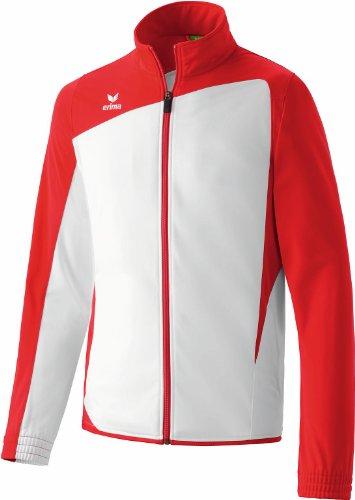 Erima Herren Trainingsjacke Club 1900, weiß/rot, S/M (Herstellergröße: 5)