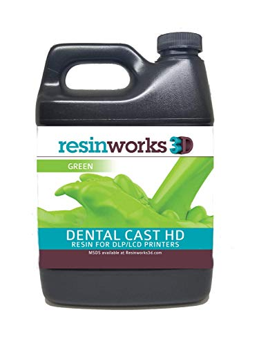 Resinworks 3D printer resin Dental Castable - 500g bottle