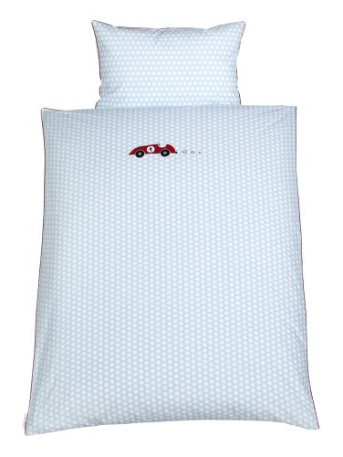 Julius Zöllner 8420119633 – Parure de lit avec motif – Rallye 100/135 et 40/60