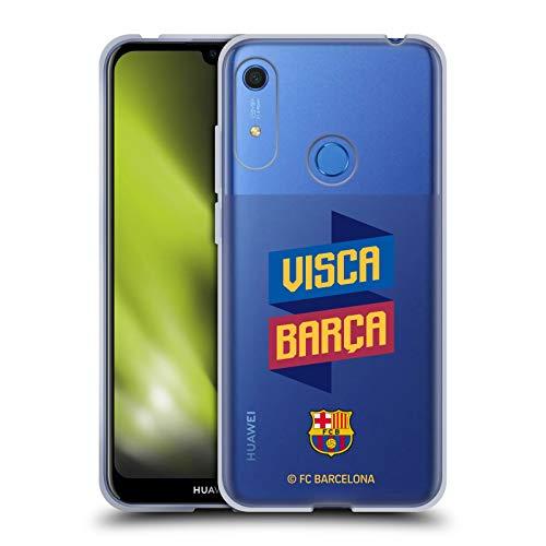 Head Case Designs Oficial FC Barcelona Visca Forca Barca Carcasa de Gel de Silicona Compatible con Huawei Y6 / Y6s (2019)