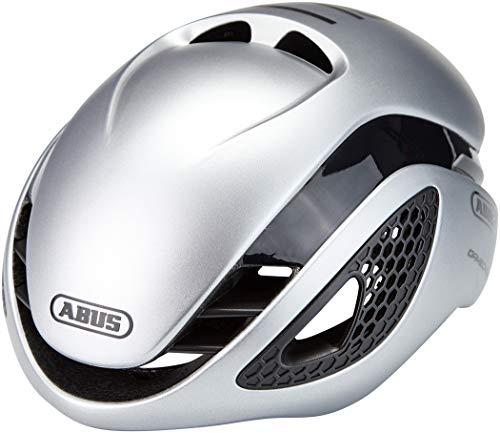 ABUS Gamechanger Aero Helm, Unisex Adulto, Gleam Silver, S