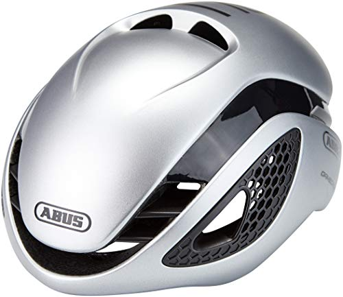 Abus Gamechanger Aero - Casco, Unisex Adulto, Plateado, Small