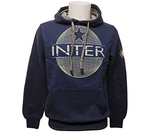 Inter Blu con Cappuccio con Applicazione Logo...