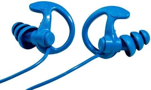 Surefire Sonic Defenders Ep9 Cobalt Max Full Block Metal Detectable Ear Plugs Triple Geflanschte Design Stencil Reusable Stencil Blue M Sport Freizeit