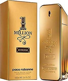 1 Million Intense by Paco Rabanne for Men - Eau de Toilette Intense, 100ml