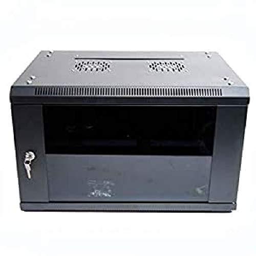 powergreen RAC-06645-HQ - Armario Rack 6U con Termostato (2 Ventiladores, 1 Bandeja) 60 x 45 cm
