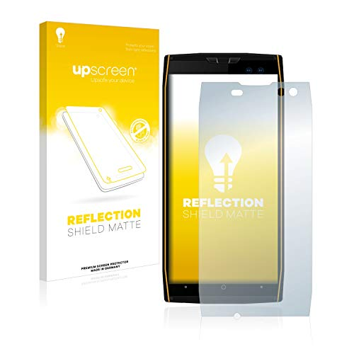 upscreen Entspiegelungs-Schutzfolie kompatibel mit Doogee S50 – Anti-Reflex Bildschirmschutz-Folie Matt