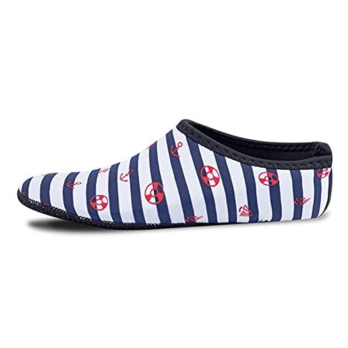 JJyy Zapatos de agua para hombre y mujer, de secado rápido, calcetines para playa, natación, yoga y deportes