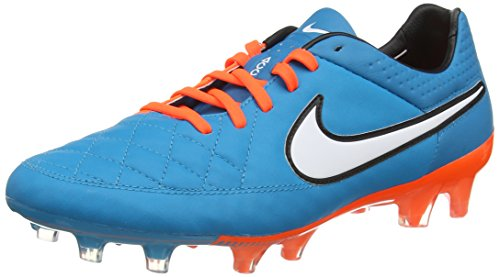 Nike Tiempo Legend V SG Pro Herren Fußballschuhe, Türkis (Neo Turq/White-Hypr Crmsn-Blk 418), 47 EU (11.5 UK)