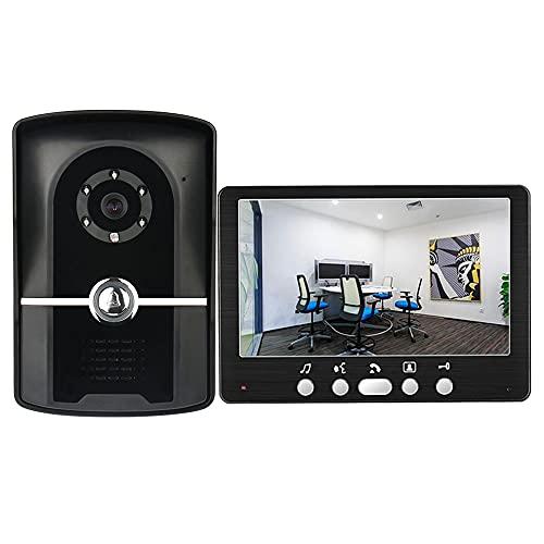Videoportero Cámara HD, IP55 HD Sistema de Control de Acceso Visual a Prueba de Agua, para Villa Office Apartment y más
